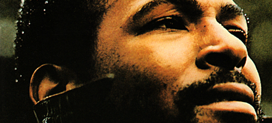 "Crop of the cover to Marvin Gaye's ""What's Going On"" album for remix post."