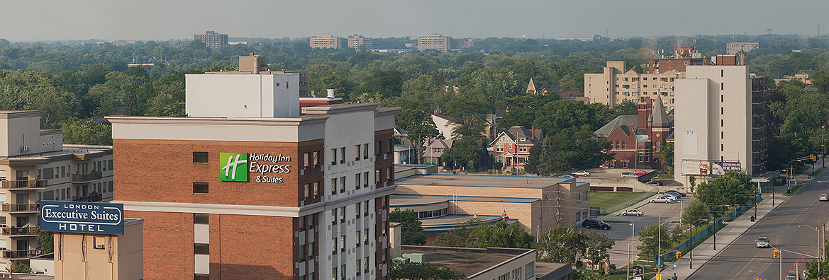 Crop of the panoramic, taken from the Delta in London, Ontario, June 24, 2013